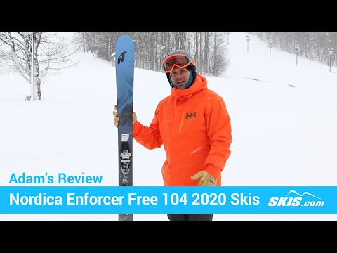 Video: Nordica Enforcer Free 104 Skis 2020 1 50