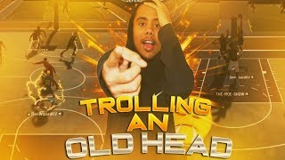 DenWizard Trolling An OldHead (Super Funny) Part 1! NBA 2K19