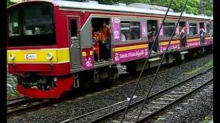 Gangguan Listrik, KRL Mogok di Stasiun Palmerah