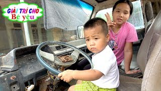 Truck Discovery, Excavator 🏠 Fun for Your Baby