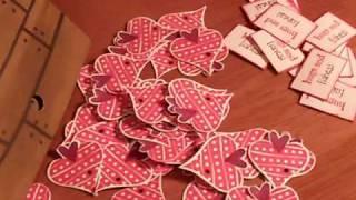 Heart Fish Valentine Card.MOV