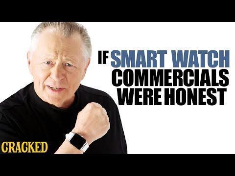 Kdyby byly reklamy na chytré hodinky upřímné