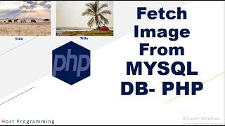 Insert and Fetch Images From Mysql Database in PHP (hindi)