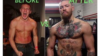 The Evolution of Conor McGregor's Physique in 2 Minutes