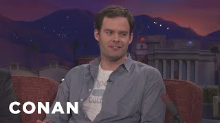 "Bill Hader Is A Bad Actor In ""Barry""  - CONAN on TBS"