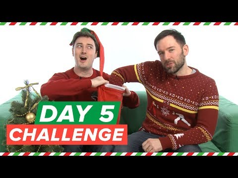 Xmas Challenge Day 5! Friday the 13th Survival Challenge (Andy)