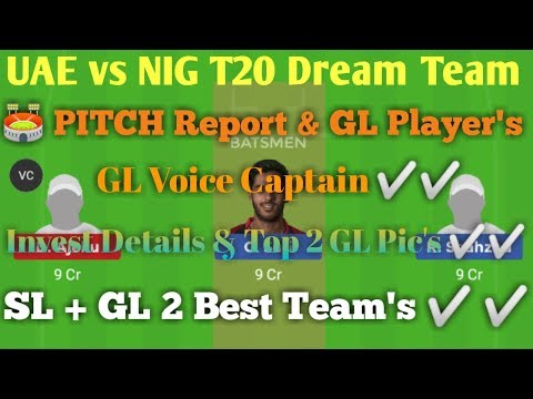 NIG vs UAE T20 Match Dream 11 Team I