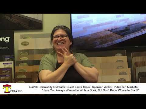 Publish Your Own Book, Scottsdale. TraVek Community Outreach
