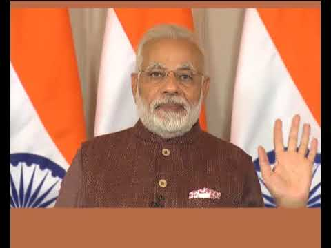 PM Modi's address at the 50th Nirvan Anniversary of Rang Avdhoot Maharaj via VC