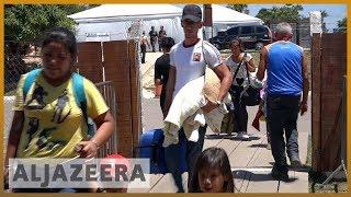 Más migrantes cruzan a Brasil a medida que continúa la suspensión de la ayuda