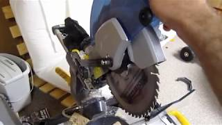 Product Review  Mastercraft Compound Mitre Saw