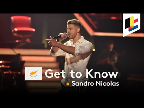 GET TO KNOW • Sandro Nicolas • Running • Cyprus 🇨🇾 • Eurovision Song Contest 2020