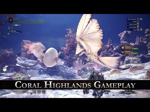 Monster Hunter: World - Coral Highlands Gameplay thumbnail