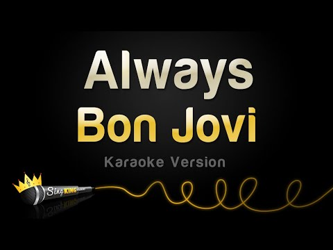 Bon jovi   always  karaoke version