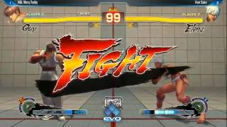 Evo 2014 USF4 Sako Elena vs Mark Teddy Guy