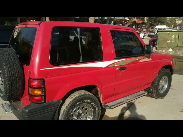 Mitsubishi Pajero 1997 for Sale in Islamabad
