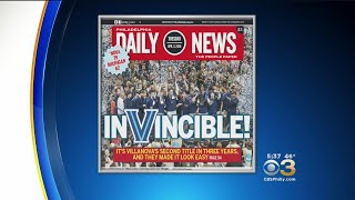 Daily News, Philadelphia Inquirer Give Villanova Cover Treatment