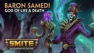 Smite - God Reveal - Baron Samedi - God of Life and Death
