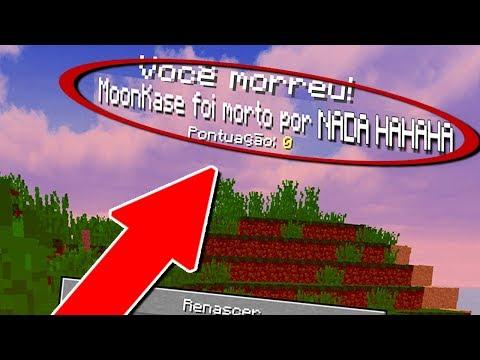 10 PIORES MANEIRAS DE MORRER NO MINECRAFT