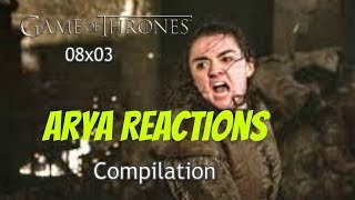 Game of Thrones-The Long Winter Reactions  [08x03] Compilation