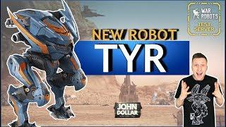 War Robots - Tyr! Новая ИМБА!