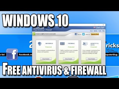 ZoneAlarm FREE Antivirus & Firewall Security Suite 2018 Install Tutorial