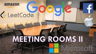 Coding Interview Tutorial 126 - Meeting Rooms II [LeetCode]