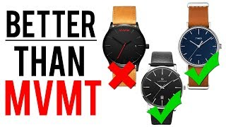 10 Better Alternatives To MVMT & Daniel Wellington Minimalist Watches (Under £200)