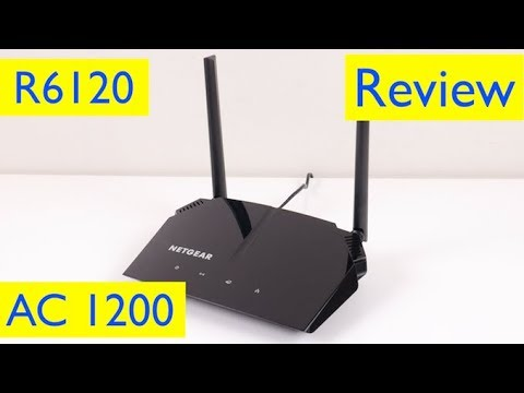 Netgear AC1200 Router Setup and Review – Model R6120-100NAS