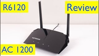 Netgear AC1200 Router Setup and Review - Model R6120-100NAS