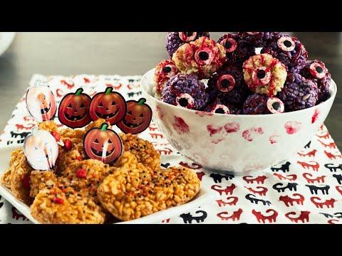 Rice Krispies Treats – Halloween  Monster Eyeballs!
