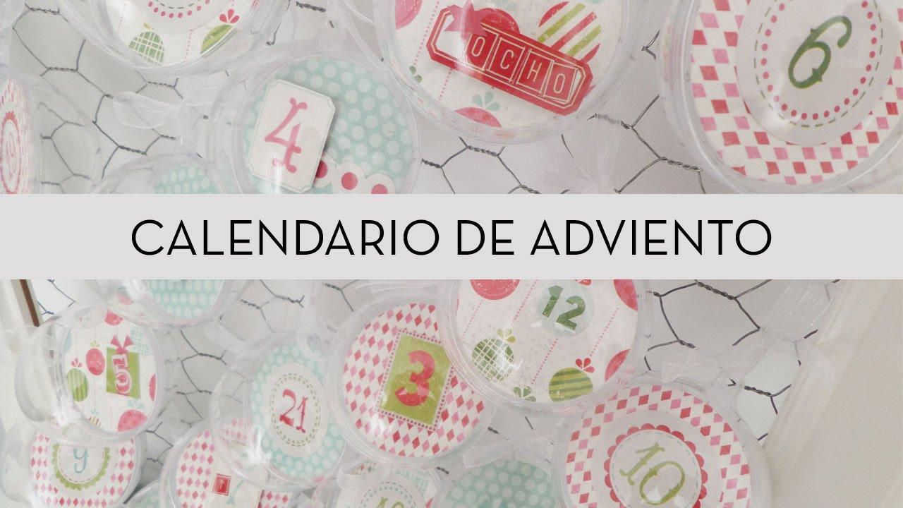 Calendario Adviento 2015 | Fácil y rápido | DIY Navidad