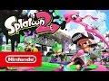 """""""Splatoon 2"""" erscheint im Sommer für Nintendo Switch. Spiele am Fernseher oder im Handheld-Modus und nutze die Joy-Con oder den Nintendo Switch Pro Controller. Offizielle Webseite: https://www.nintendo.de/Spiele/Nintendo-Switch/Splatoon-2-1173295.ht"""