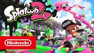 PrimalGames.de : Splatoon 2  SWITCH Trailer