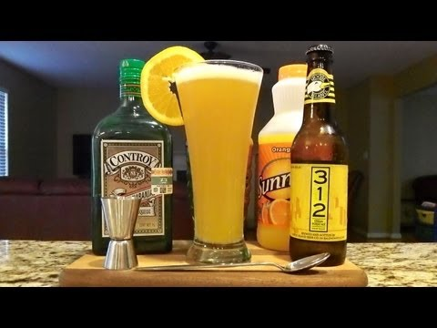 How To Make A Cosmic Collision Beer Cocktail / Mixed Drink  ((RECIPE INCLUDED)) DJs BrewTube