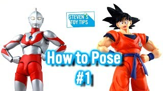 Action Figure Photography Guide  - How To Pose Your Figures #1! - Stevens Toy Tips