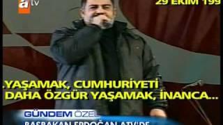 Ahmet Kaya'nın Erdoğan'ı Ağlatan Konuşması Cumhuriyet Konseri (1998)