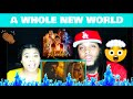 "ZAYN, Zhavia Ward - A Whole New World (End Title) (From ""Aladdin""/Official Video) REACTION!"