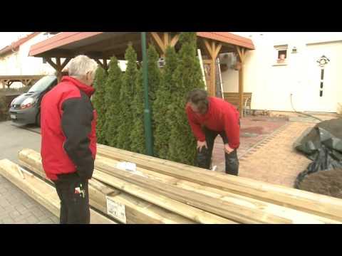 DIE WENDES Handwerker mit Herzblut - Folge 4: Projekt Carport | BAUHAUS