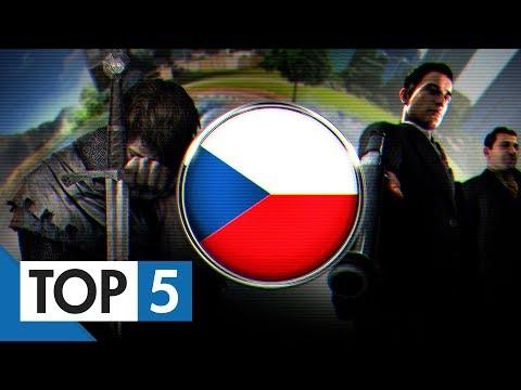 TOP 5 - Českých her, které psaly historii
