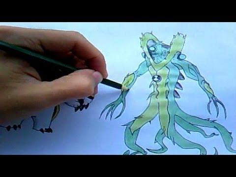 Como Desenhar Ben 10 - Cipó Selvagem