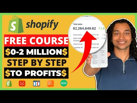 FREE Shopify Dropshipping Course | $0 to $2 Million (2021)