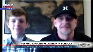 WATCH: Teacher Accused of Bullying Middle School Student About Trump, Fox News (FNN)