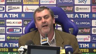 preview picture of video 'Manenti neo presidente Parma scintille con il giornalista'
