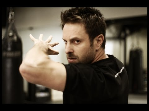How to throw an Elbow Strike - Krav Maga Worldwide Training w/ AJ Draven : Self Defense