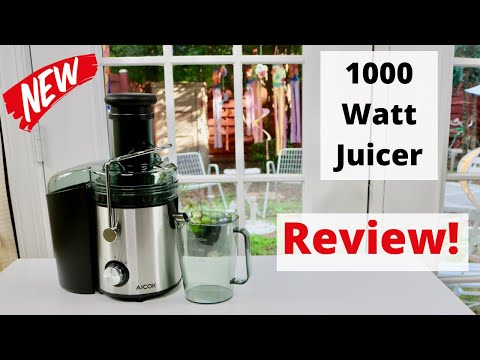 😍  AICOK  ❤️    Centrifugal Juicer - Review     ✅