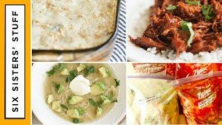 5 Ingredient Slow Cooker Freezer Meals - Meal Prep