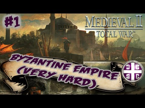 Medieval II: Total War - Byzantine Empire Very Hard Campaign #1