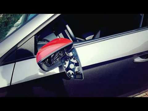 Seat Leon 5F Spiegelkappen demontieren