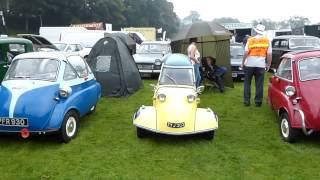 preview picture of video 'Micro cars at the Bingley show, Aire Valley, West Yorkshire.'